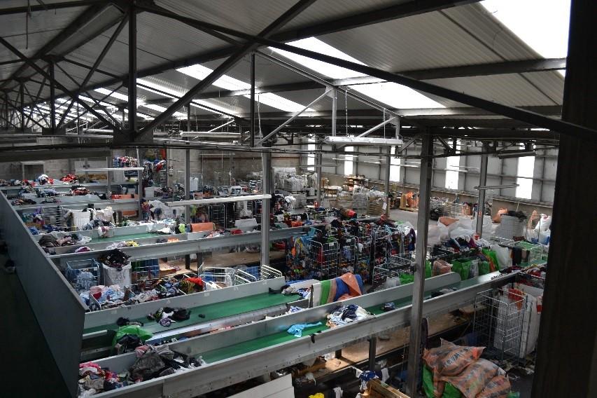 centre de tri des textiles Vosges TLC